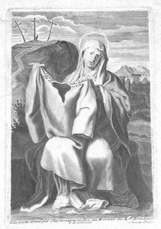 Santa Camisa de la Virgen en Chartres - s. XVII-XVIII (R.M. PFV-Camisa de Chartres 1) Ste_tu10