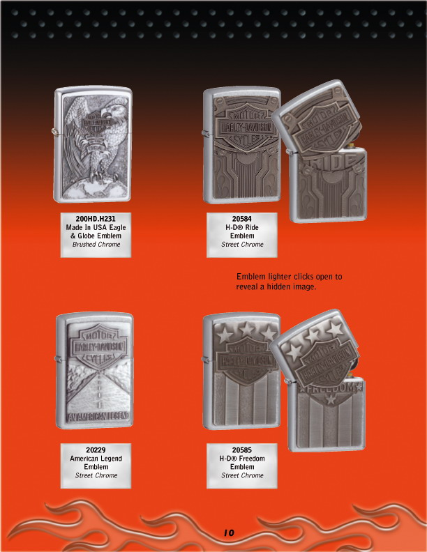 Harley Davidson Collection 2005 (version US) 1012