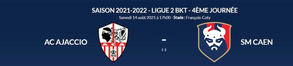 [4è journée de L2 BKT] AC Ajaccio - SM Caen Aca-sm10