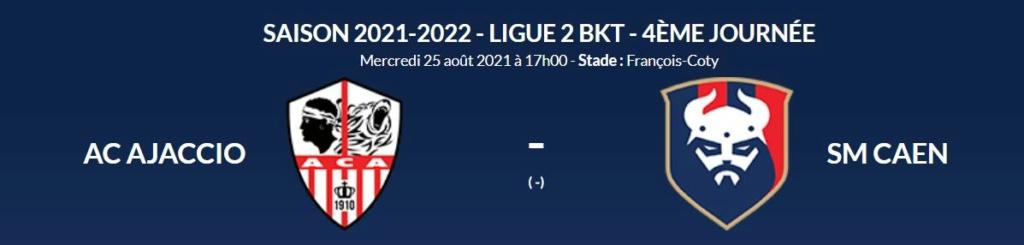 [4è journée de L2 BKT] AC Ajaccio - SM Caen Aca-sm11