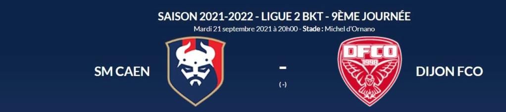 [9è journée de Ligue 2] SM Caen - Dijon FCO Caen-d10