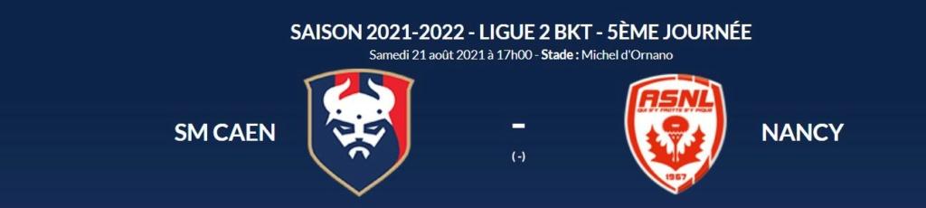 [5è journée de Ligue 2 BKT] SM Caen - AS Nancy Lorraine Caen-n10