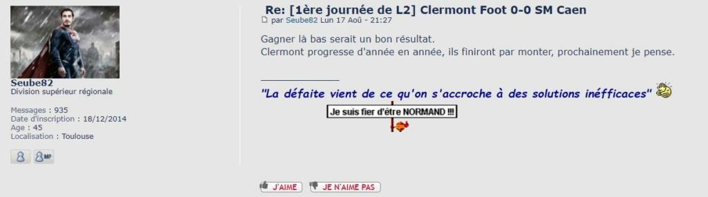 [38e et dernière journée de L2] SM Caen - Clermont Foot 63 Cf63-s10