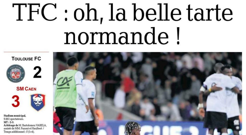 [10è journée de Ligue 2] Toulouse FC - SM Caen - Page 2 Dep_010