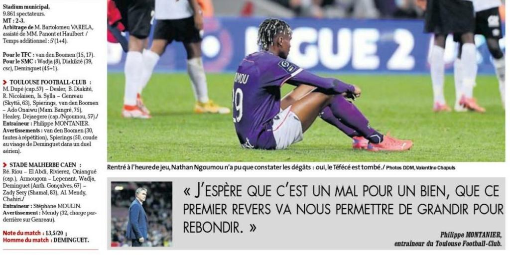 [10è journée de Ligue 2] Toulouse FC - SM Caen - Page 2 Dep_210
