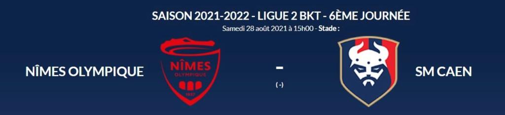 [6è journée de Ligue 2] Nîmes Olympique - SM Caen No-smc10
