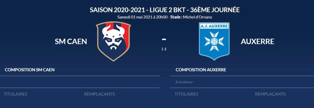 [36e journée de L2] SM Caen 0-0 AJ Auxerre Smc-aj10