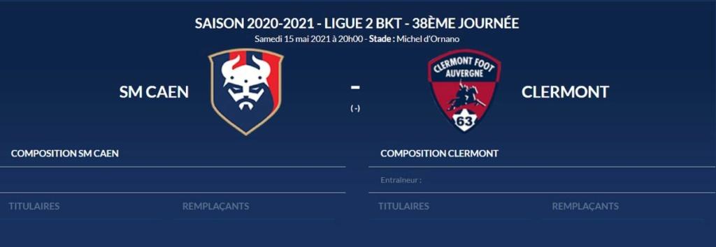 [38e et dernière journée de L2] SM Caen - Clermont Foot 63 Smc-cf10