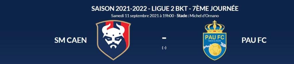 [7è journée de Ligue 2] SM Caen - Pau FC Smc-pa11