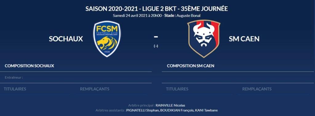 [35e journée de L2] FC Sochaux M 1-0 SM Caen Sochau10