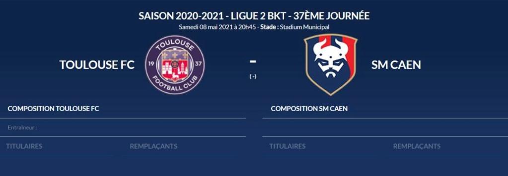 [37è journée de L2] Toulouse FC 3-0 SM Caen Toulou10