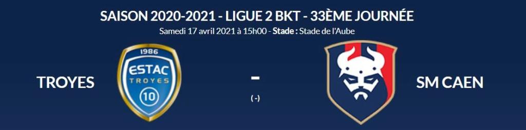 [33e journée de L2] ESTroyes AC 1-0 SM Caen Troyes10