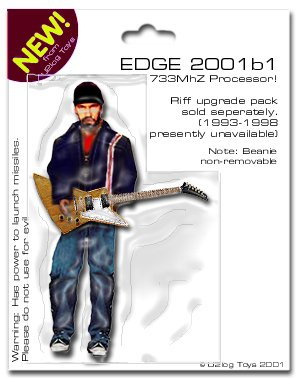 ACTION FIGURES U2 Edge10