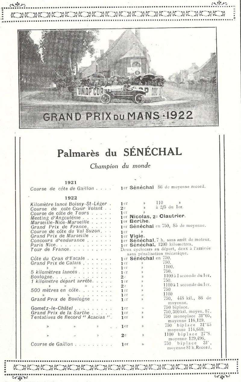 Senechal cyclecar - Page 3 Senech12