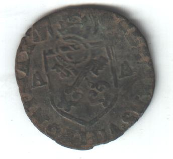 Douzain de Clément VIII contremarqué. Clamen10
