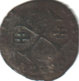 Douzain de Clément VIII contremarqué. Clamen12
