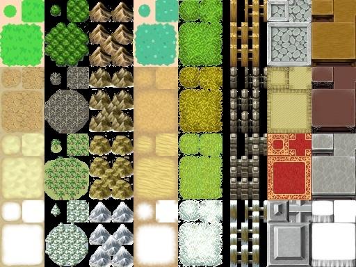 Tileset Zelda Tilea210