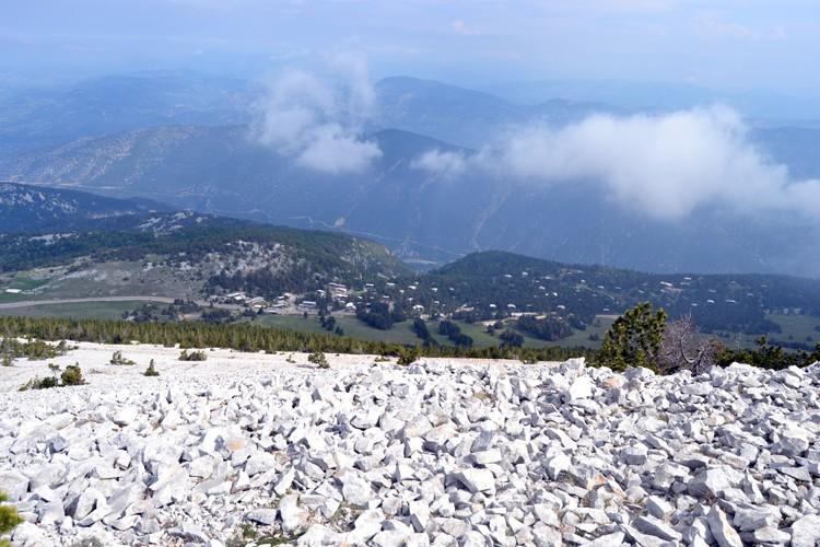Davarrée au Mont Ventoux 2211