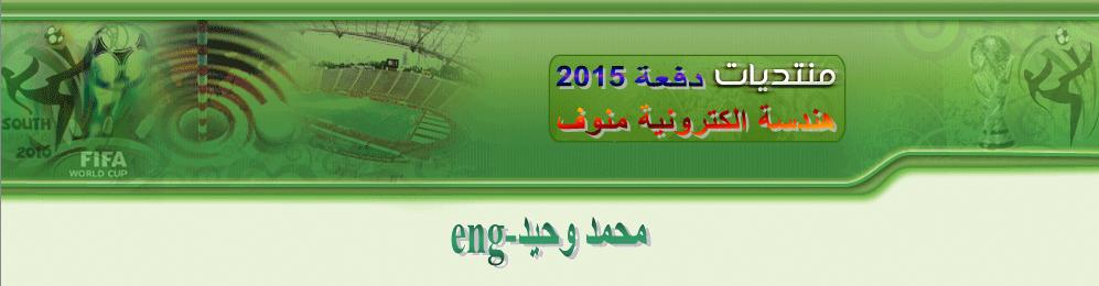 المهندس/ محمد وحيد