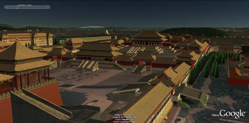 Grands Monuments du Monde en structure 3D [Sketchup] Chine10