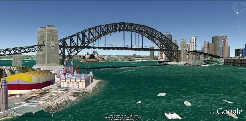 Grands Monuments du Monde en structure 3D [Sketchup] Sydney10
