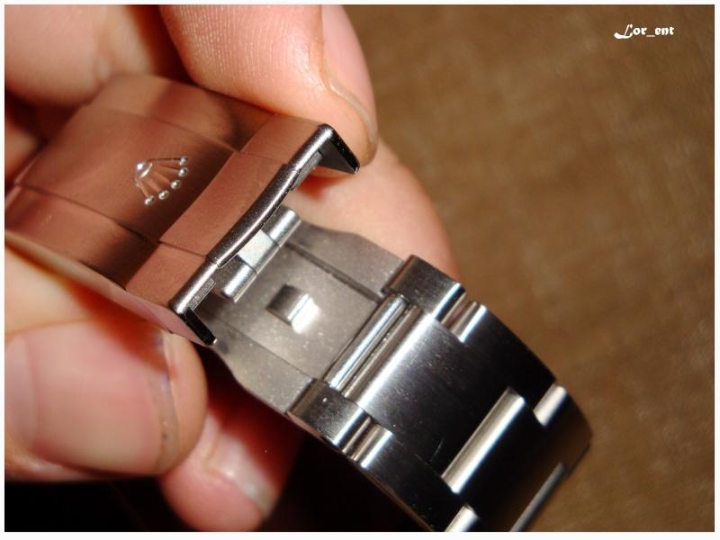 Un cadeau parfait :  Rolex Oyster Perpetual 116000 Blue Dial Dsc04216