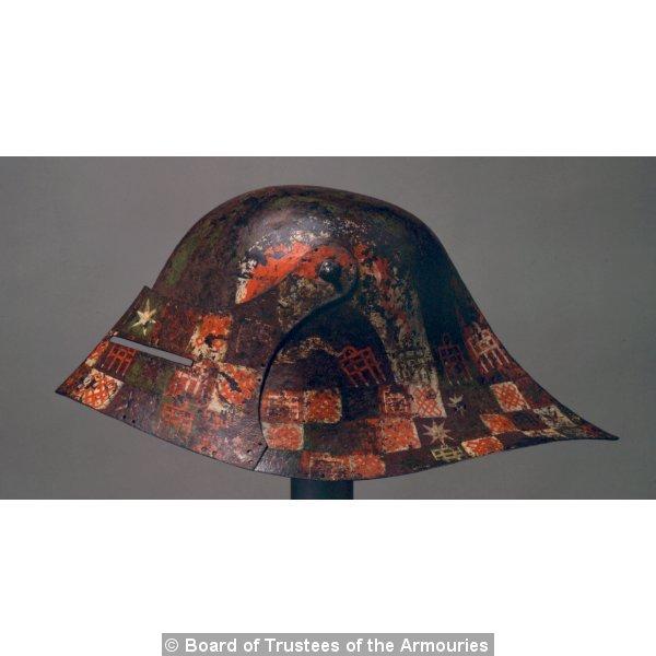 les casques peints XVe Casque10