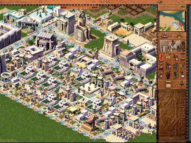 jeux pc pharaon sierra