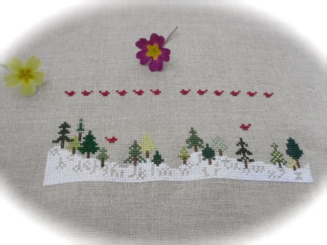 Christmas tree sampler 511
