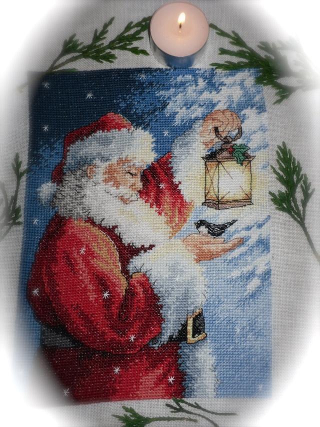 Santa's feathered friend  Santa_10