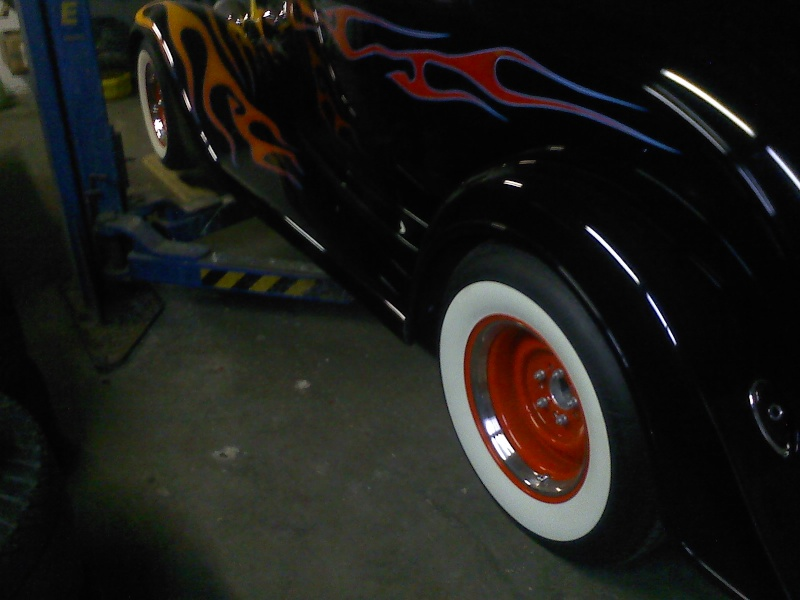 put different wheels on the coupe 06141110