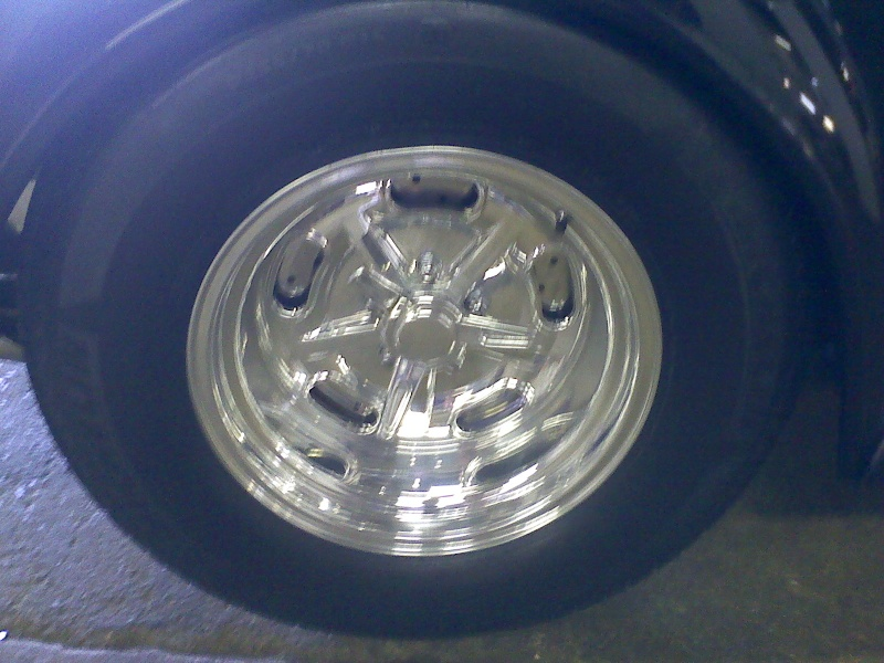 put different wheels on the coupe 06221110