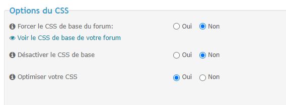 """Supprimer la case """"Derniers messages"""" sur le bandeau de la catégorie ? Option10"""