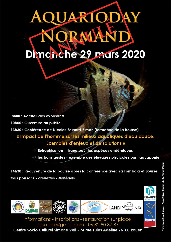 Aquarioday Normand DIMANCHE 29 MARS 2020 ANNULEE Aar_2911