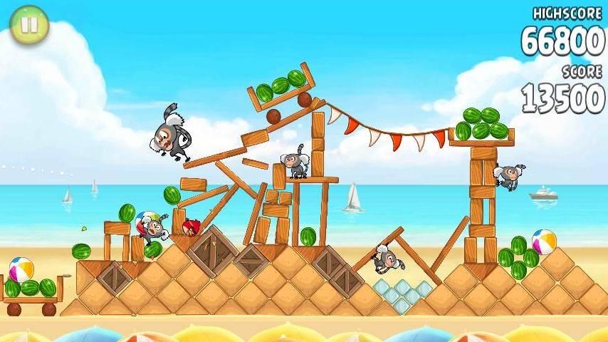 Game new Angry Bird Rio + Key Angryb13