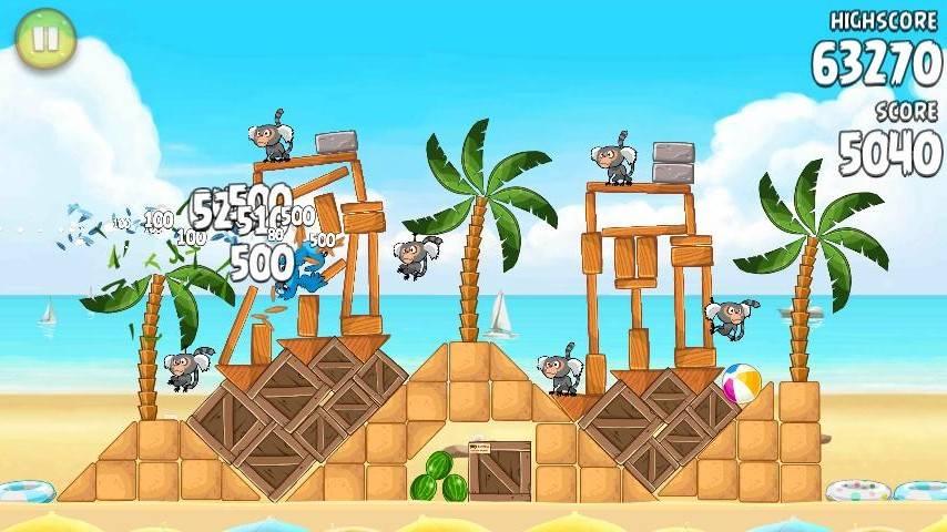 Game new Angry Bird Rio + Key Angryb14