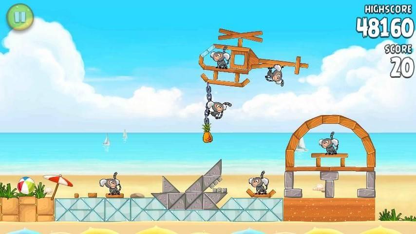 Game new Angry Bird Rio + Key Angryb15