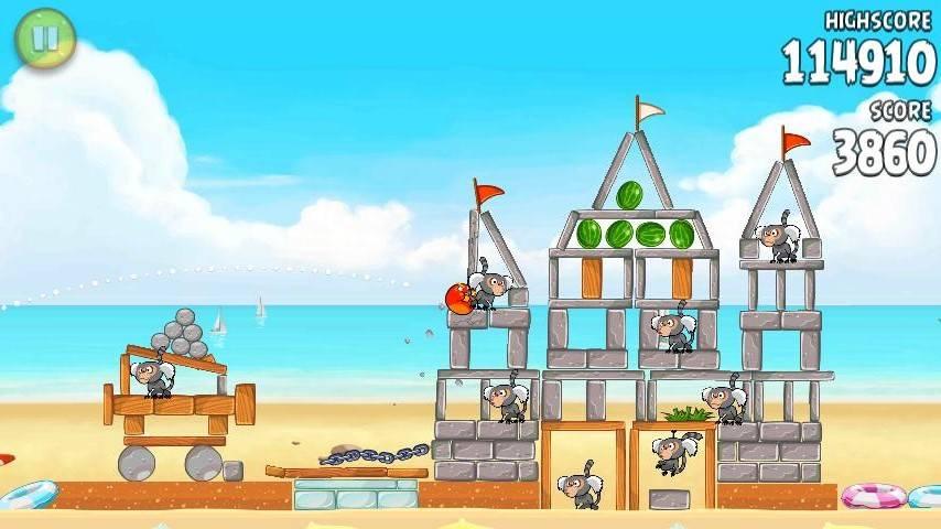 Game new Angry Bird Rio + Key Angryb16