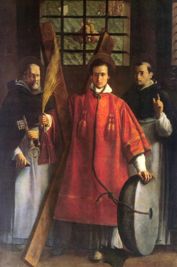 Saint Vincent  et saint Anastase, manrtyr. Vicent10