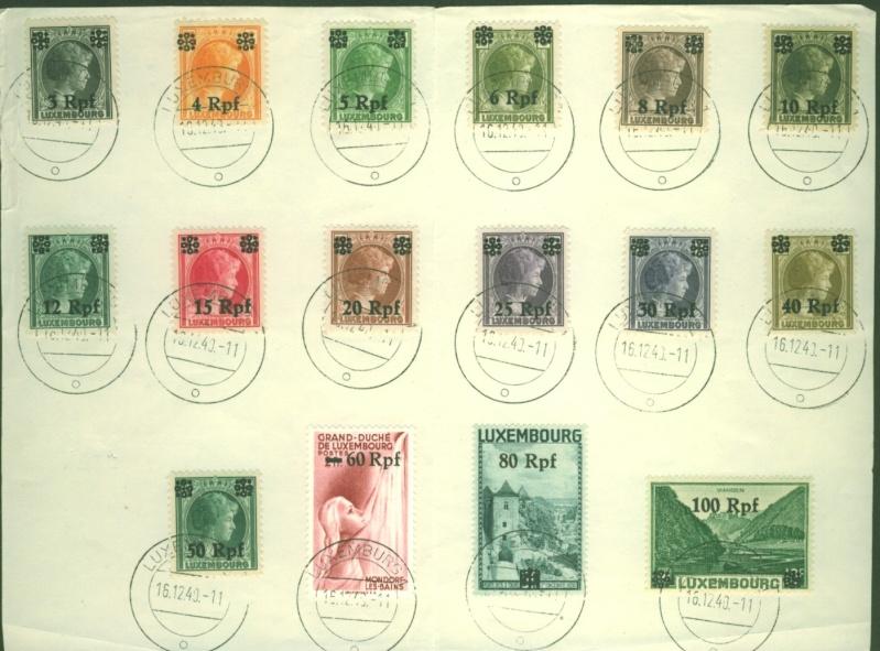 Deutsche Besetzungsausgaben im II. Weltkrieg - Seite 2 Luxemb11