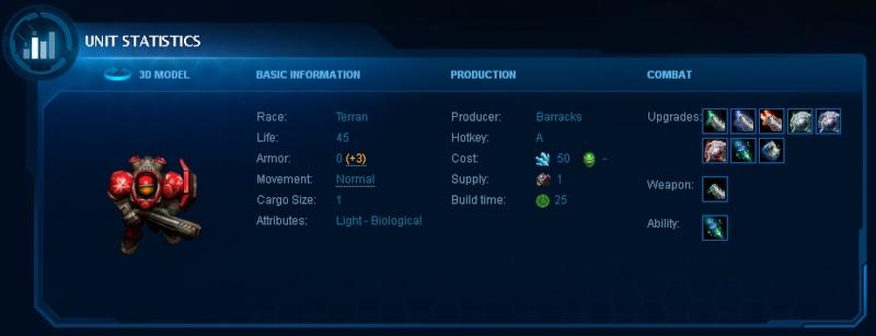 (Starcraft 2) - Unidades, Terran: Marine Marine10