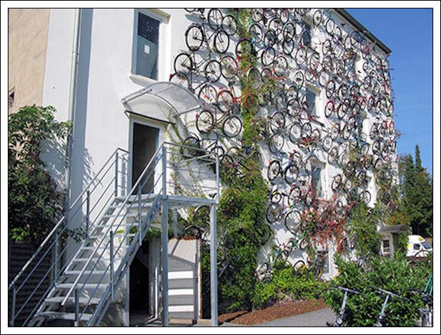 Un muro di biciclette Muro-d11