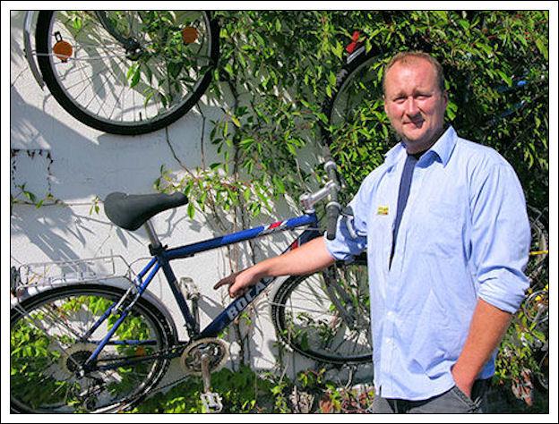 Un muro di biciclette Muro-d12