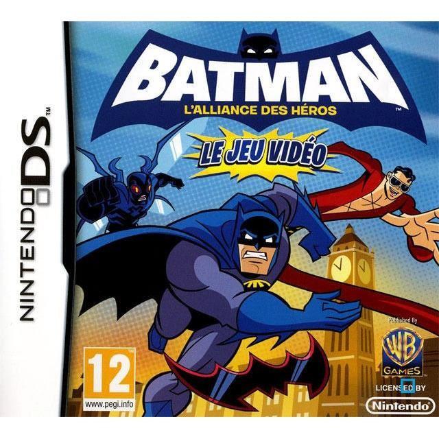 Batman : L'Alliance des Héros le Jeu Vidéo (DS) Batman10