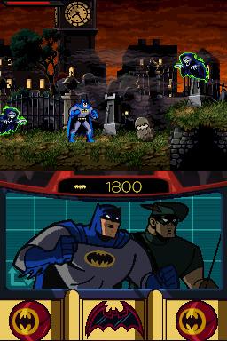 Batman : L'Alliance des Héros le Jeu Vidéo (DS) Batman11