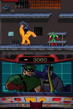 Batman : L'Alliance des Héros le Jeu Vidéo (DS) Me000110