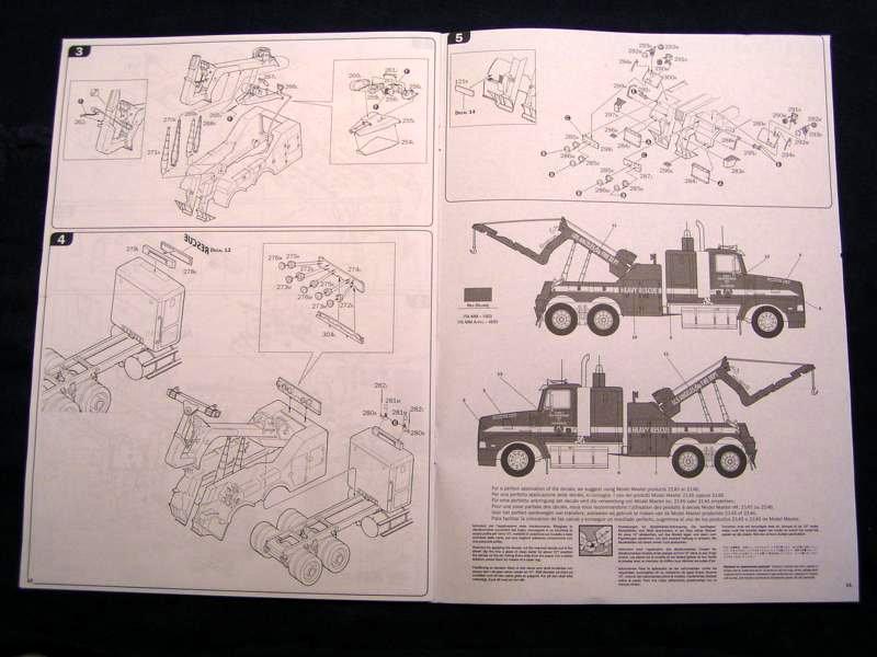 L.A Fire Department Recovery Truck 1:24 Italeri 00211