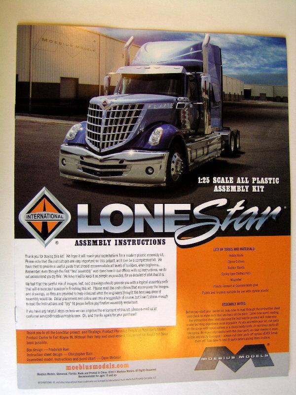 International Lonestar 1:25 01811