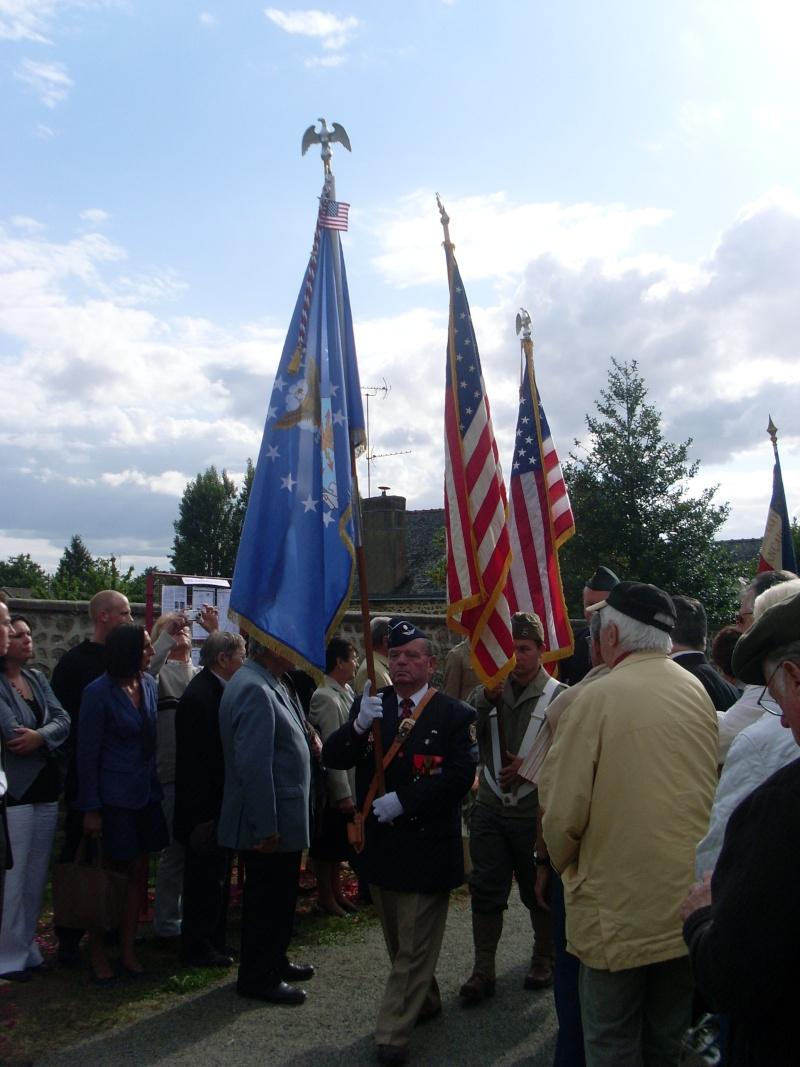 Inauguration et Cérémonie en Hommage au 2nd Lt. Montgomery A. Coddington 474th Fighter Group, KIA le 7 Juin 1944. Sl371112