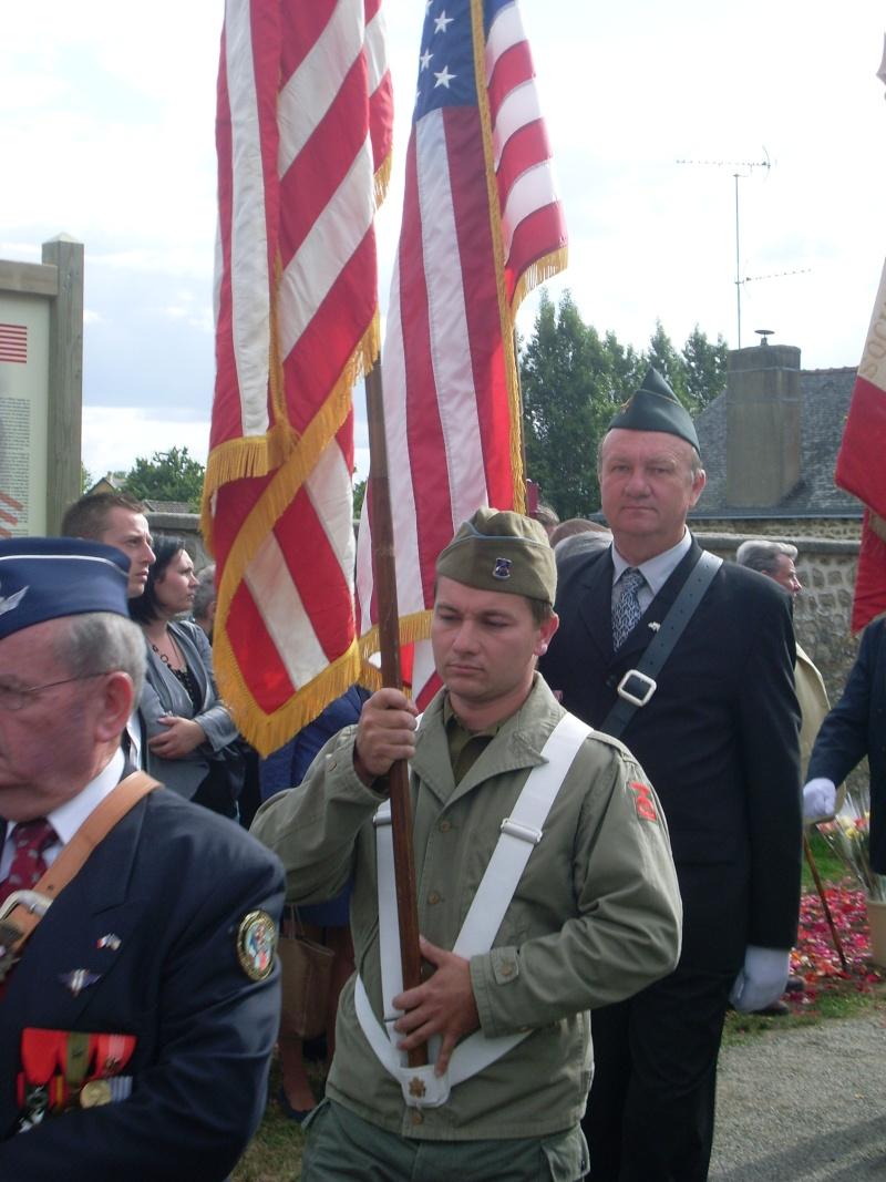 Inauguration et Cérémonie en Hommage au 2nd Lt. Montgomery A. Coddington 474th Fighter Group, KIA le 7 Juin 1944. Sl371113